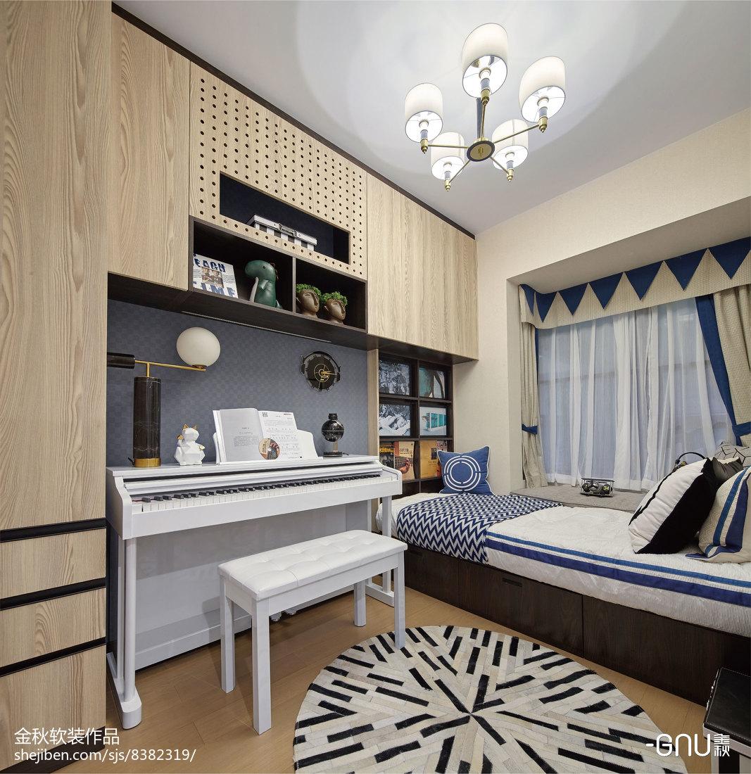 精美北欧卧室装修图片欣赏