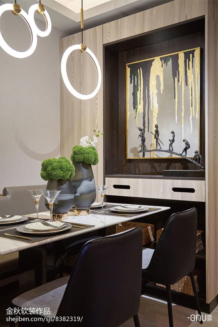 精选北欧餐厅装修设计效果图片欣赏