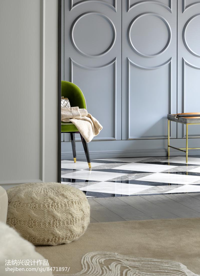 热门别墅客厅装修设计效果图片