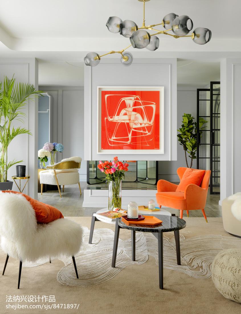 精美别墅客厅装修实景图