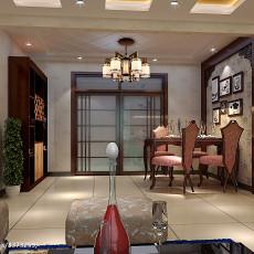 中式二居餐厅装修设计效果图
