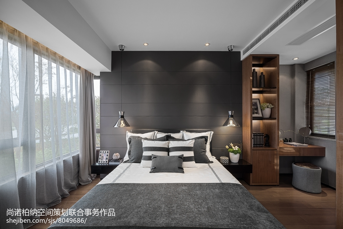 热门卧室现代实景图