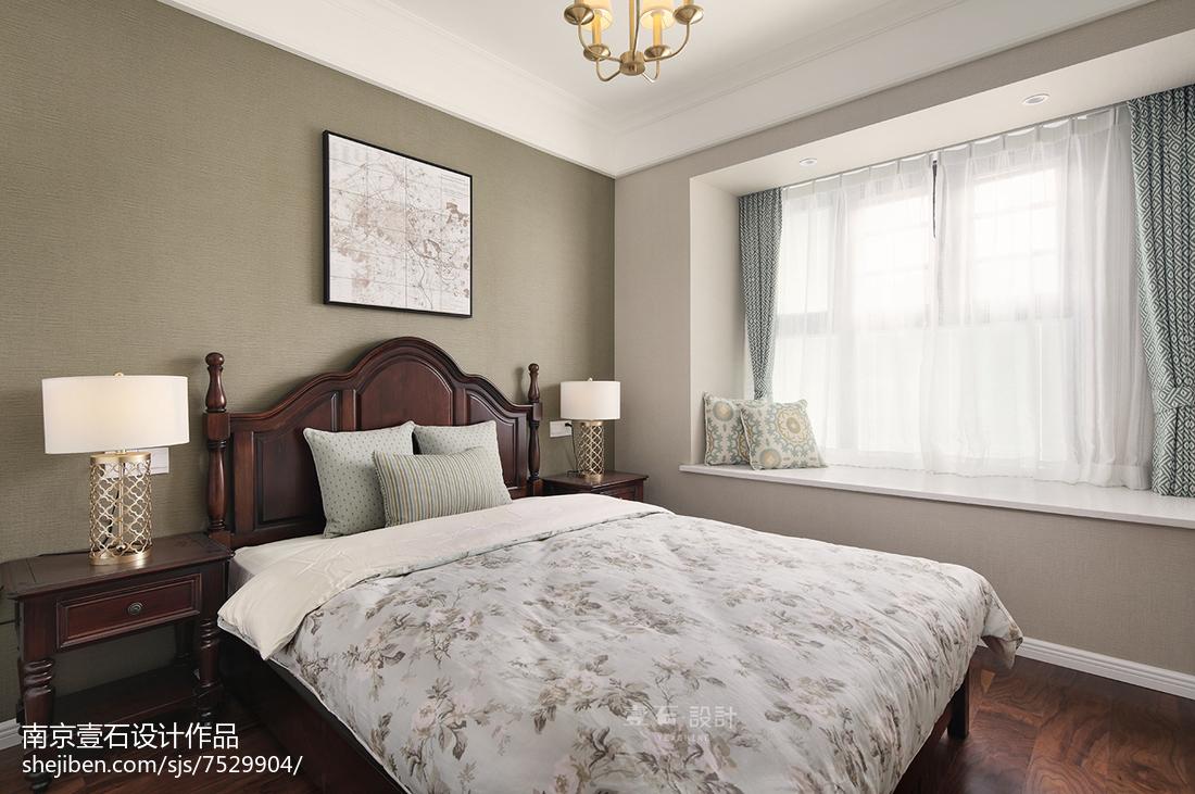美式三居卧室欣赏图