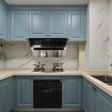 现代美式厨房设计图