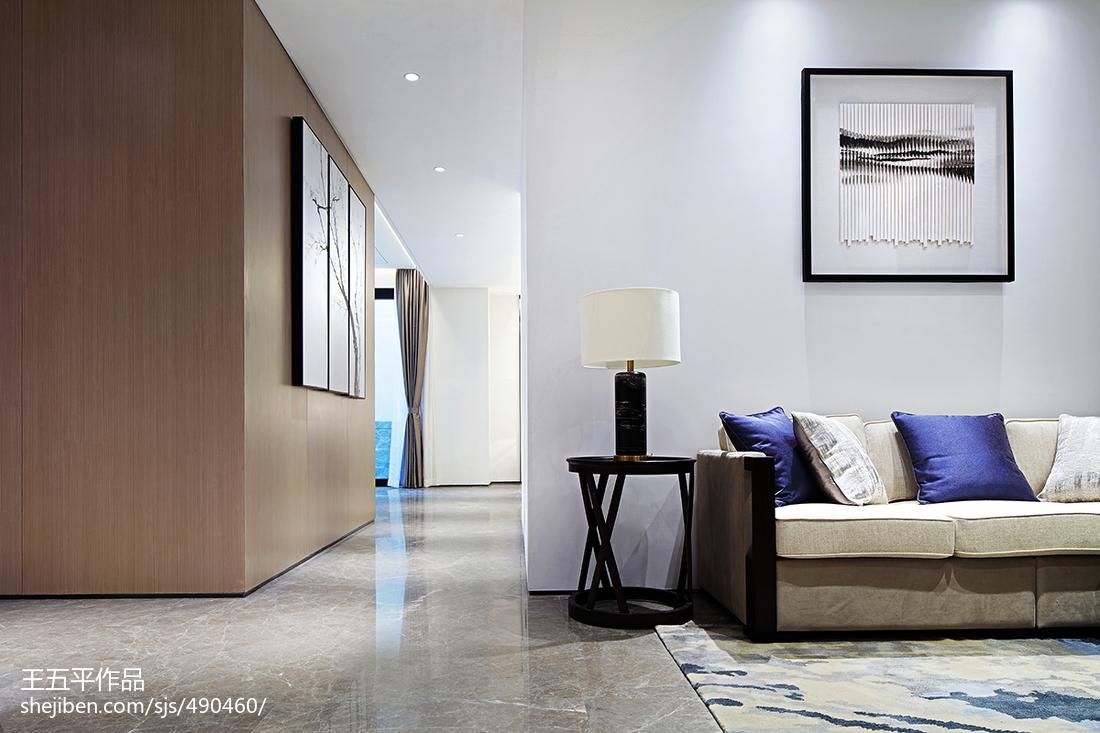 精美面积126平别墅客厅中式实景图片