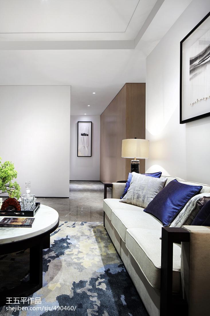 精美142平米中式别墅客厅实景图片欣赏