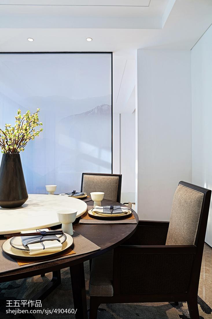 118平米中式别墅餐厅效果图片大全