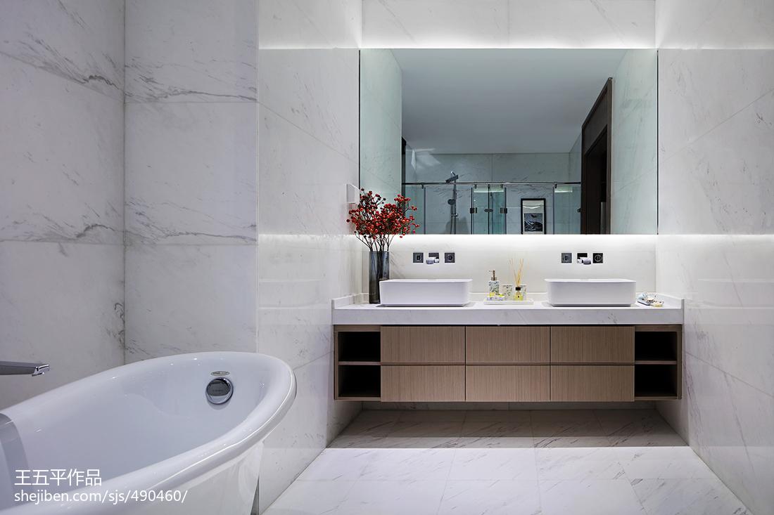 新中式別墅衛浴設計圖