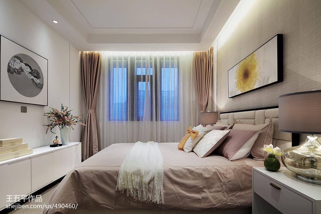 热门112平米中式别墅卧室效果图片欣赏