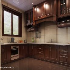精美别墅厨房东南亚装修设计效果图片大全