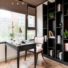 2018精选104平米三居书房现代装修设计效果图