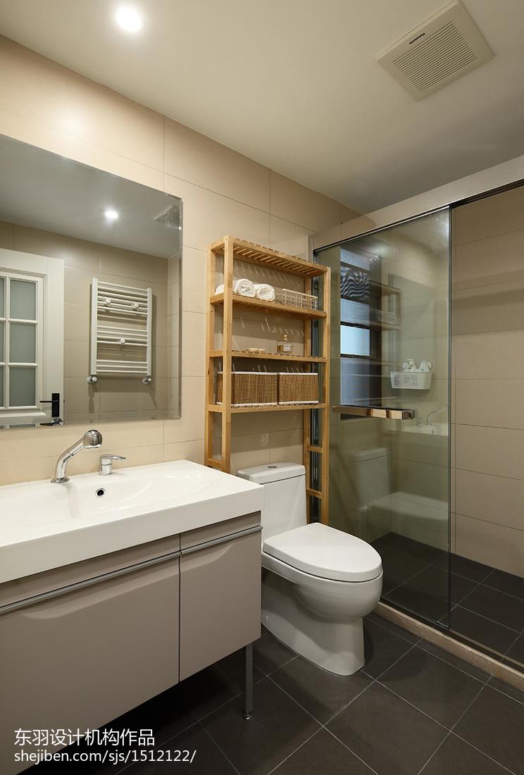 北欧三居卫生间装修设计效果图片