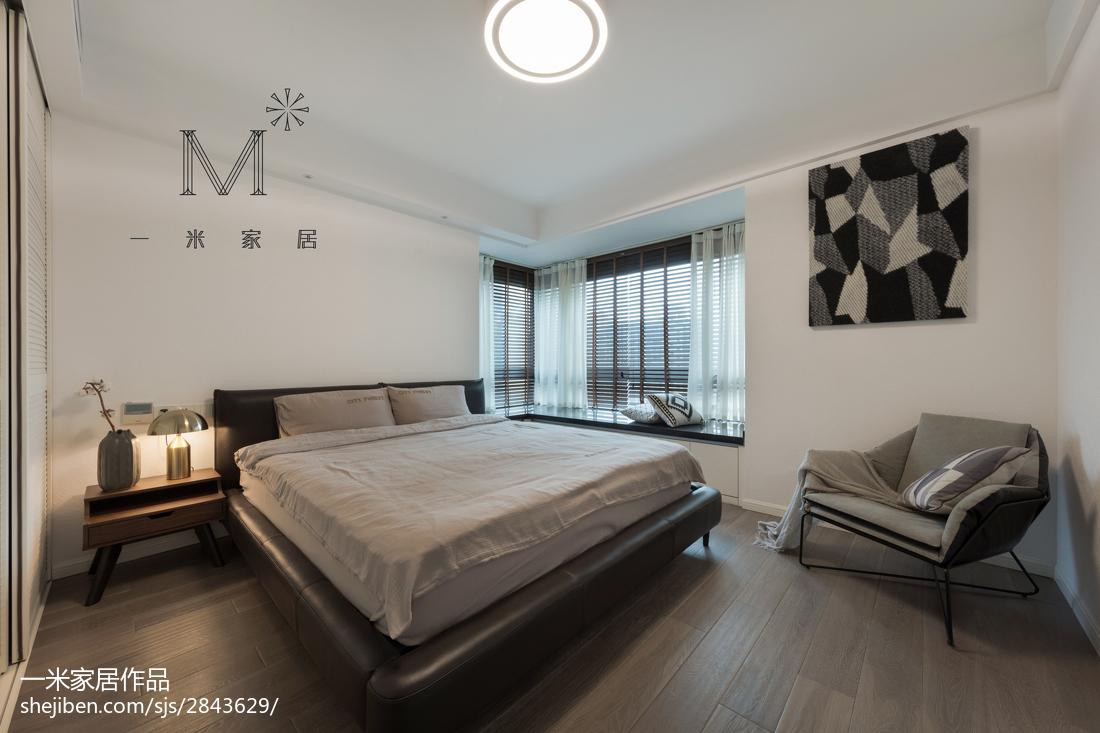精选面积98平混搭三居卧室装修图片欣赏