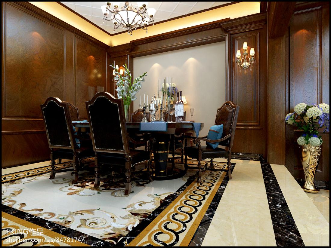 法式时尚高档客厅图片