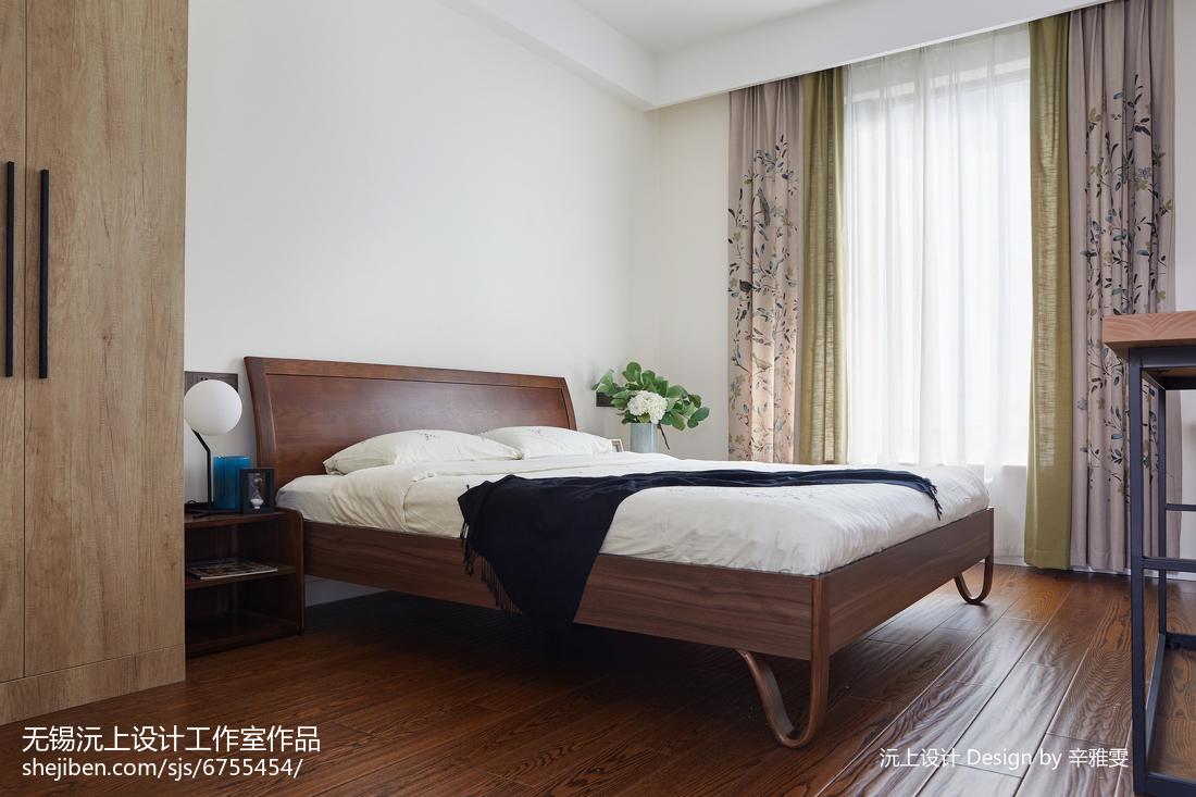 精美大小94平现代三居卧室装修设计效果图片大全