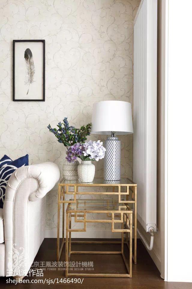 明亮39平美式小户型客厅实拍图