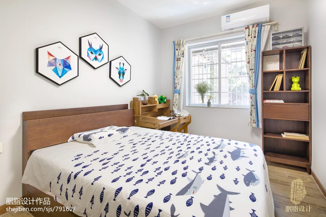 大气105平北欧四居儿童房装修美图