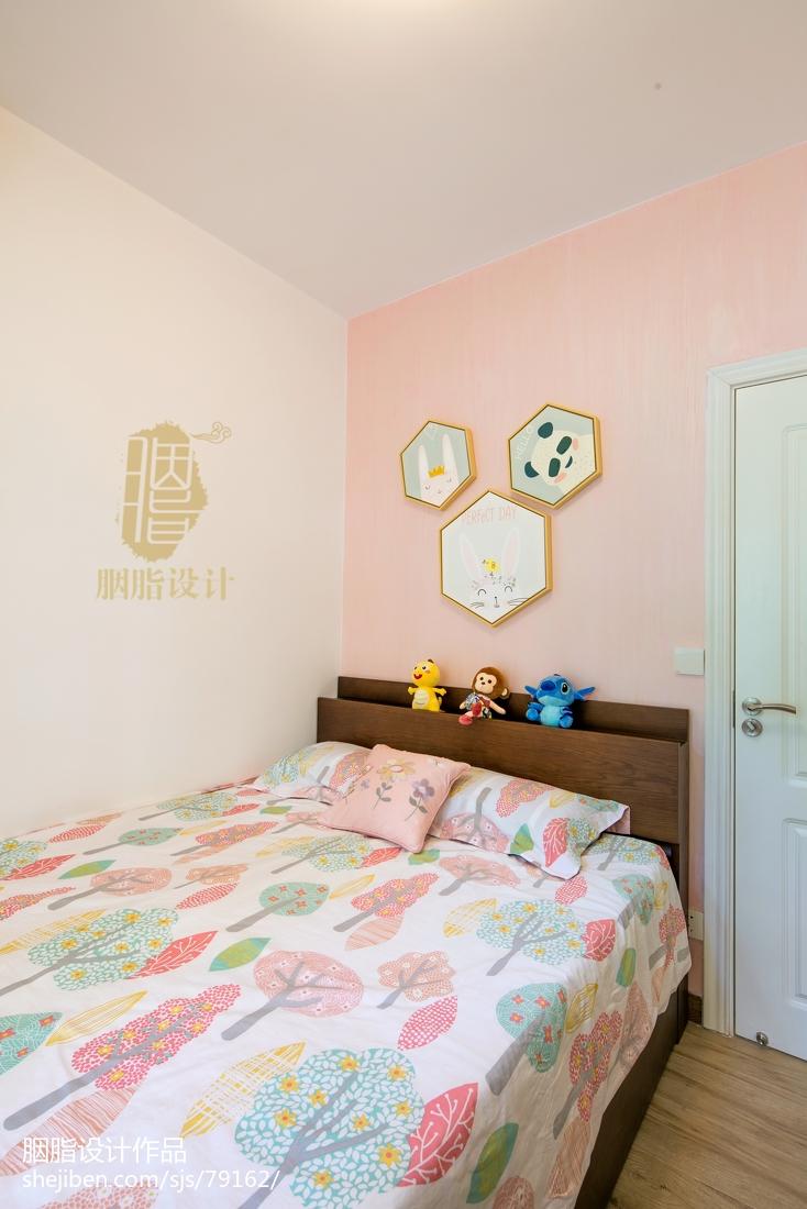 明亮156平北欧四居儿童房装修美图