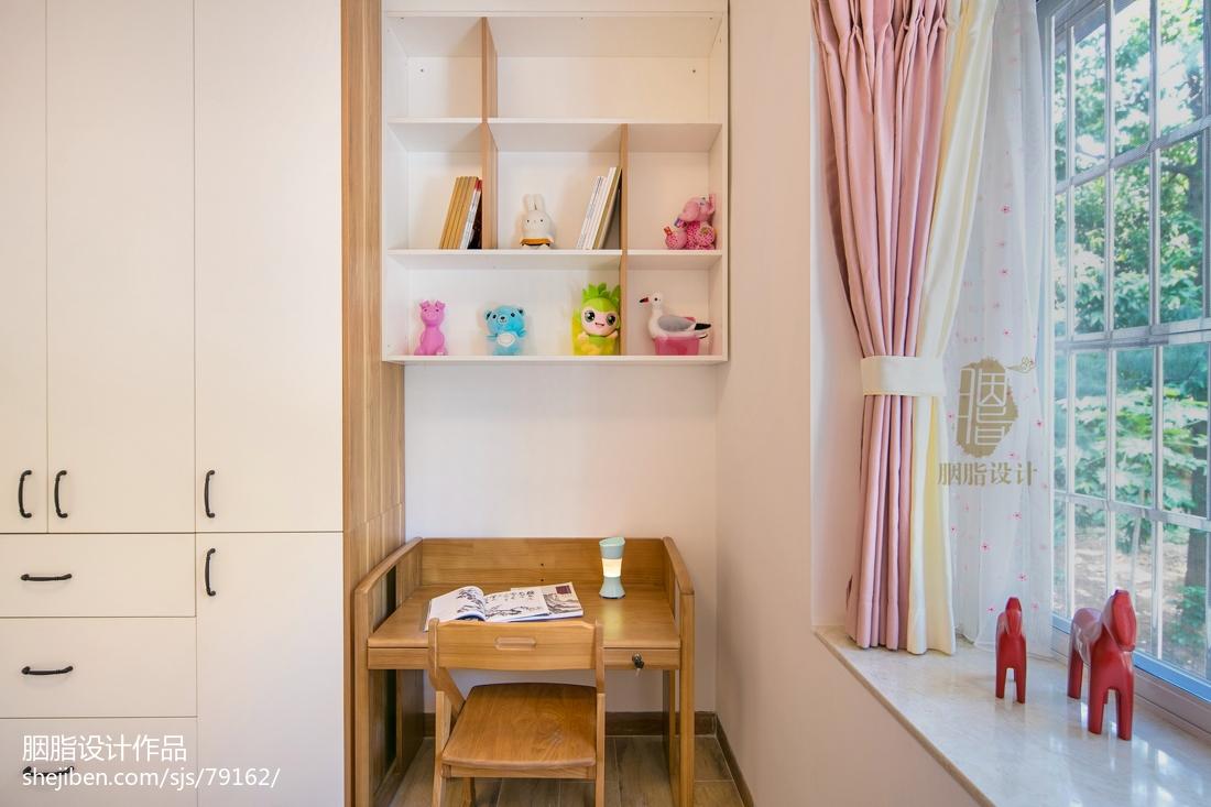 浪漫98平北欧四居儿童房设计效果图