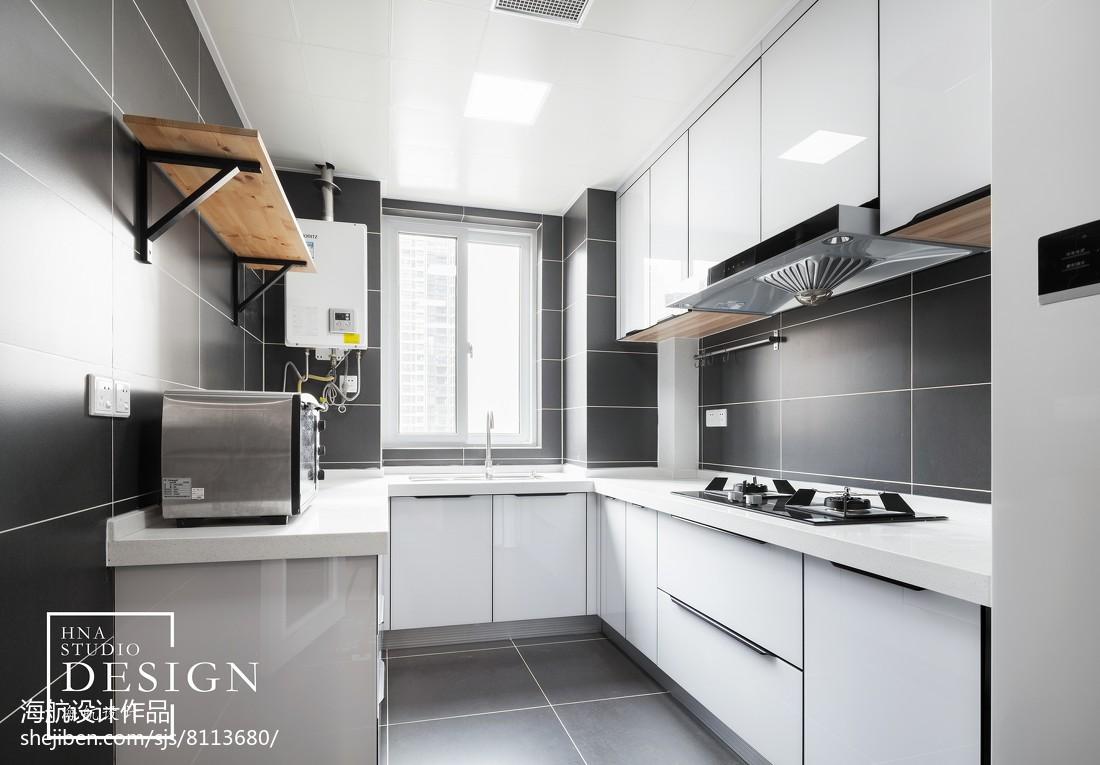 四居北欧厨房设计图片