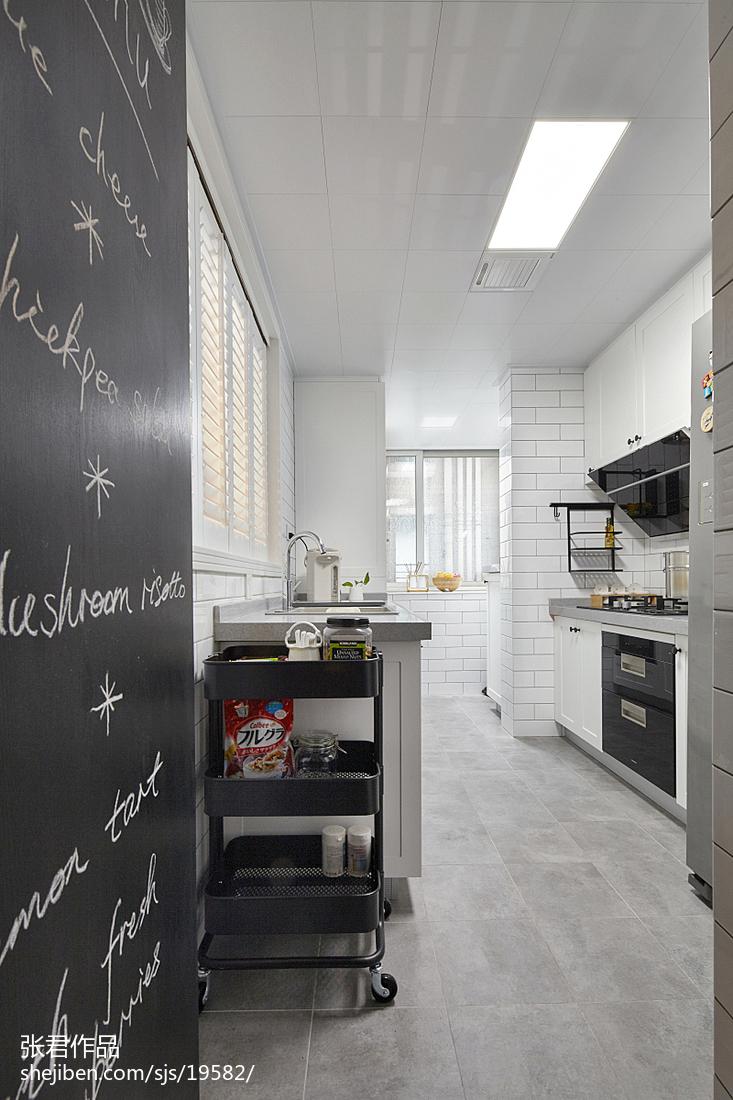 精选面积97平北欧三居厨房效果图