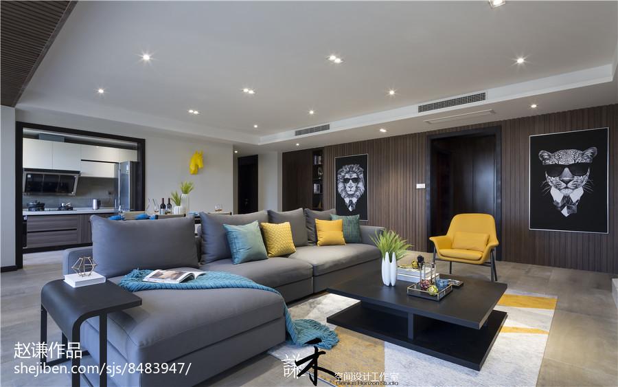 精选137平米四居客厅现代欣赏图片