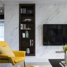 2018114平米四居客厅现代装修设计效果图