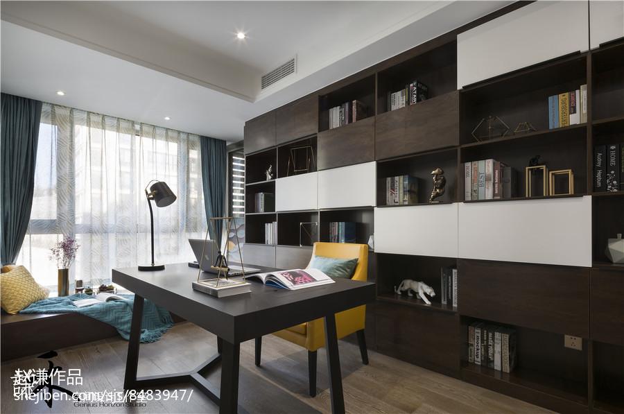精选142平米四居书房现代装饰图片欣赏