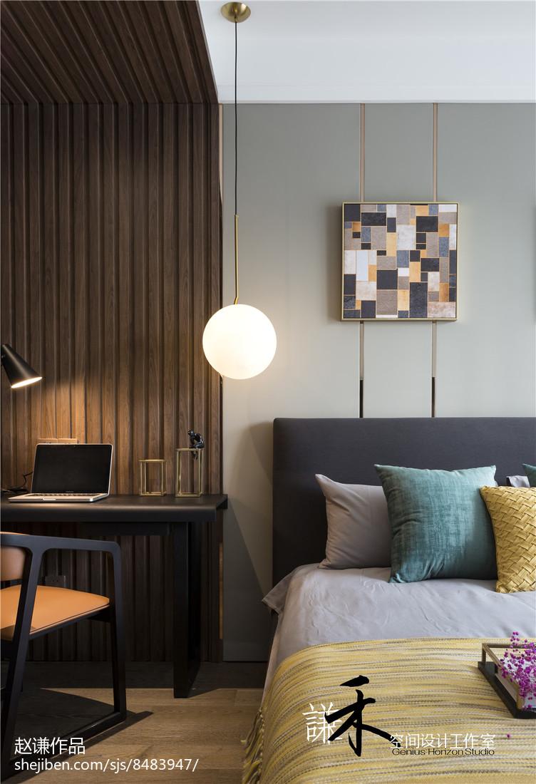 四居卧室现代装修欣赏图