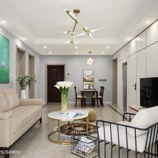 2018精选面积102平现代三居客厅装修图片欣赏