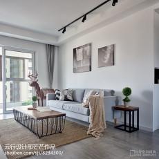 2018精选三居客厅装修效果图片