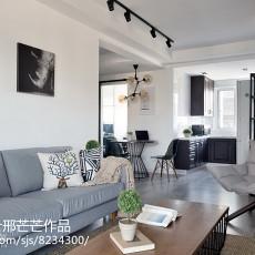 热门面积93平三居客厅装修设计效果图片