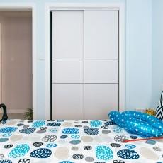 宜家风格精装卧室图片