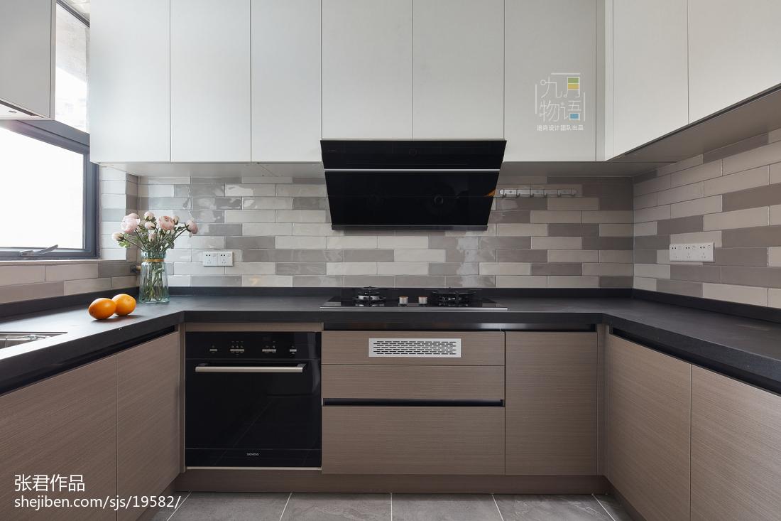 精选四居厨房北欧装修实景图片大全