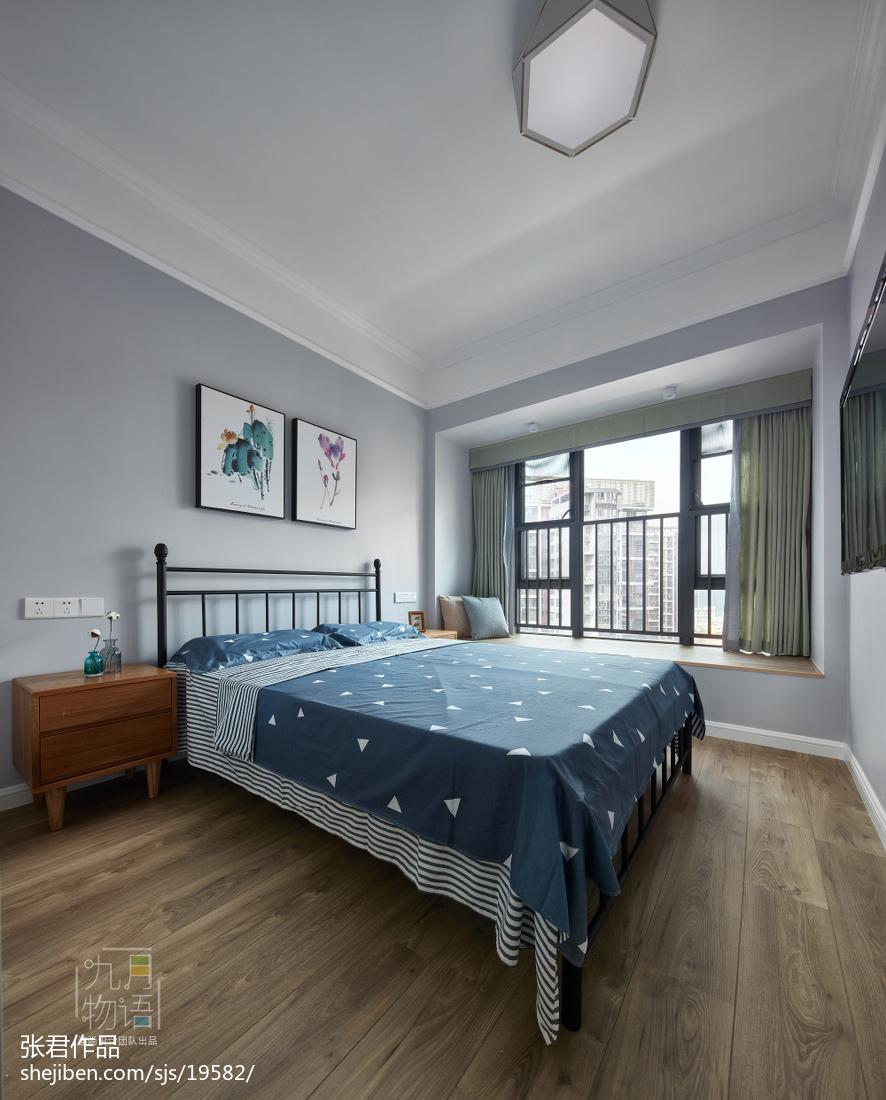 精选141平米四居卧室北欧装修设计效果图