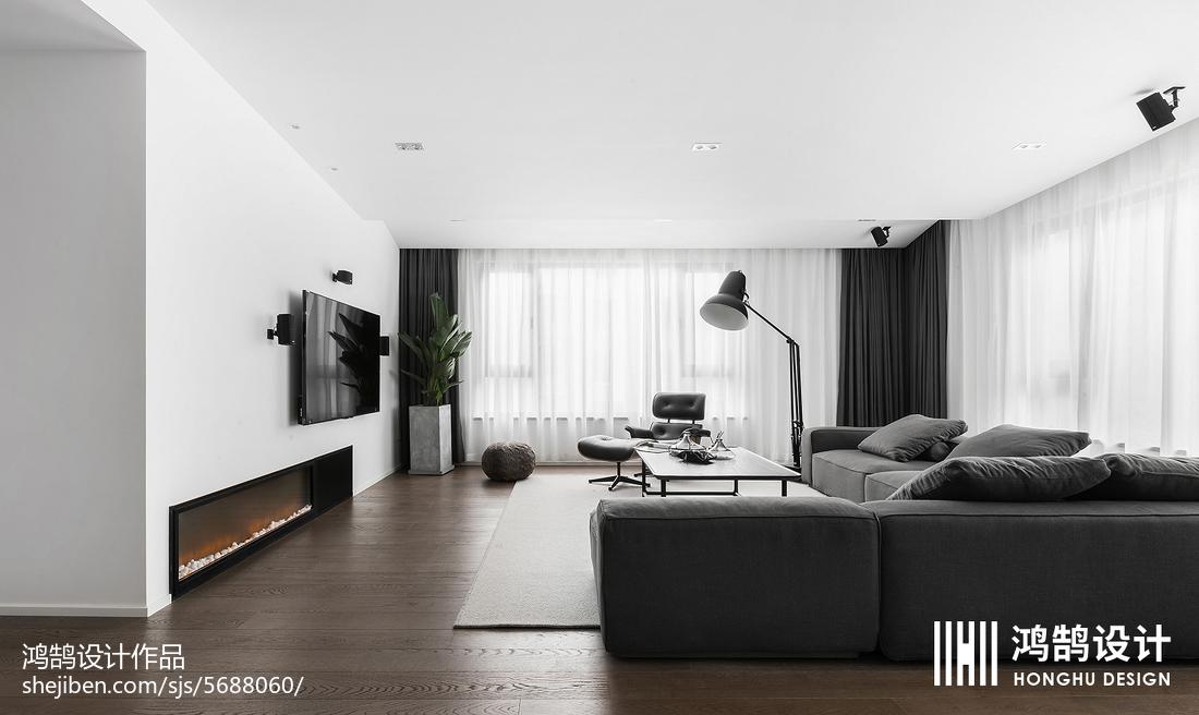 精选面积72平现代二居客厅实景图片大全