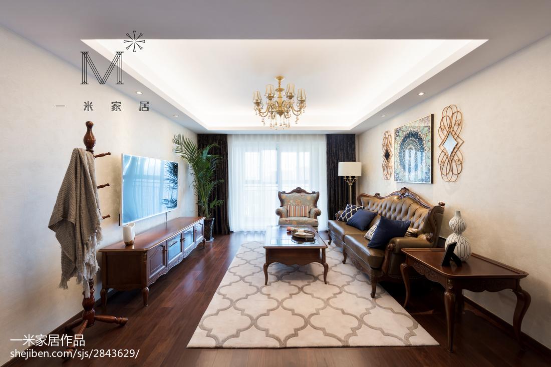 质朴72平简欧二居客厅实拍图
