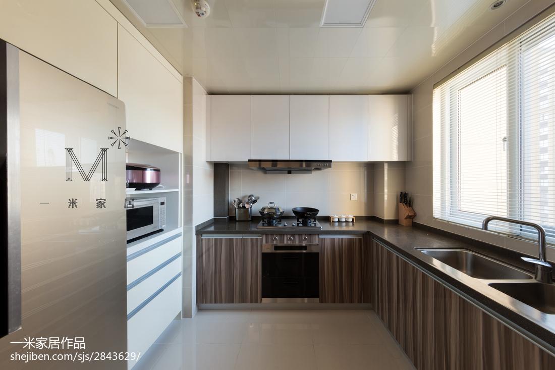 精美简欧二居厨房装修图片大全