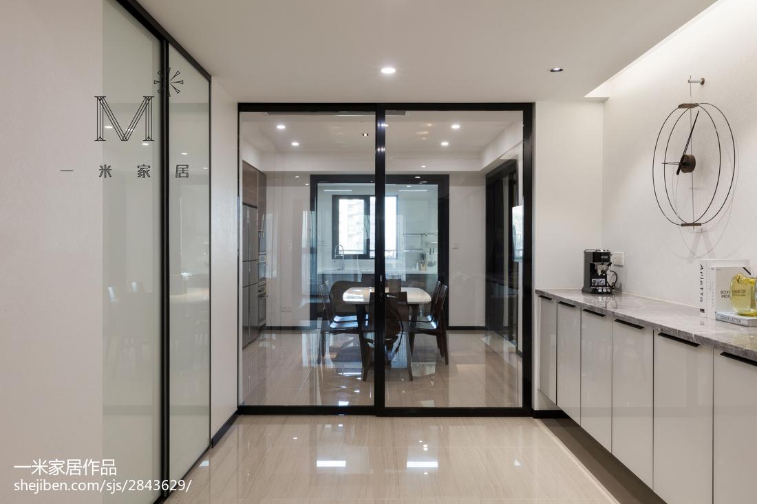 精美75平米二居餐厅现代效果图片