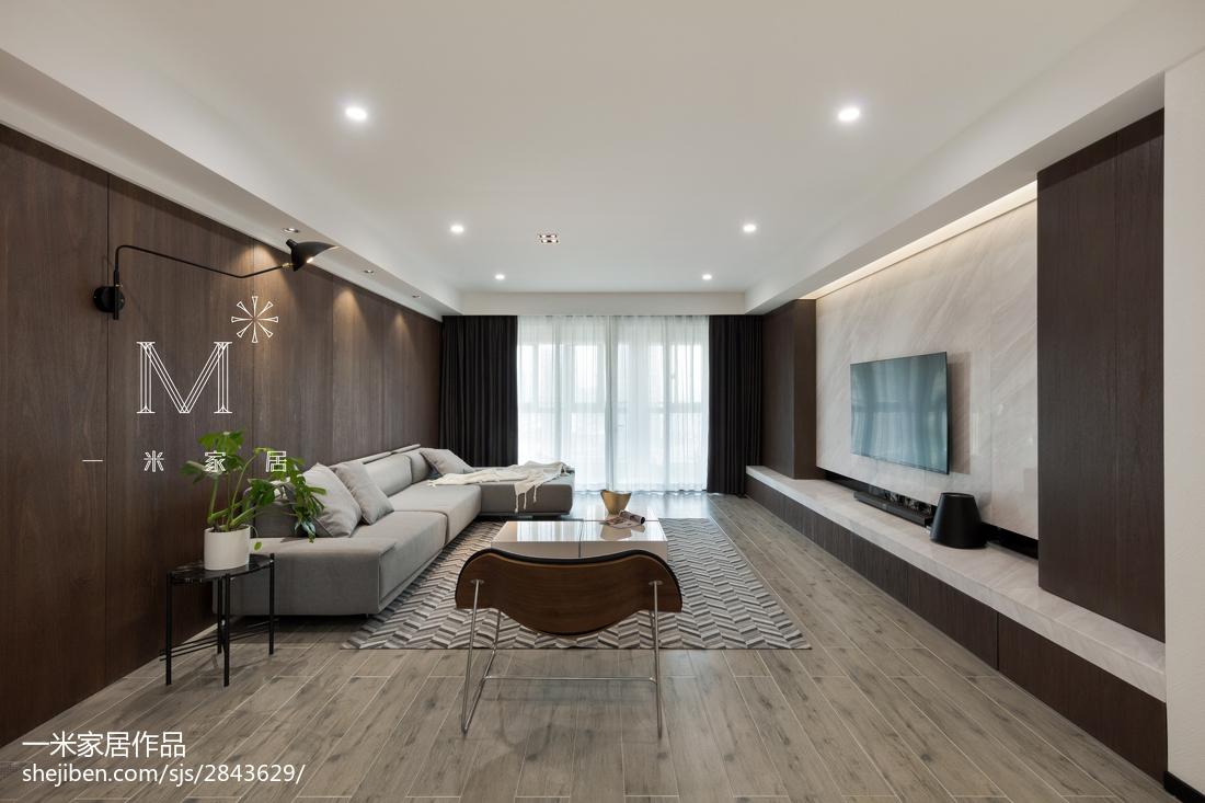 精选75平方二居客厅现代实景图片大全