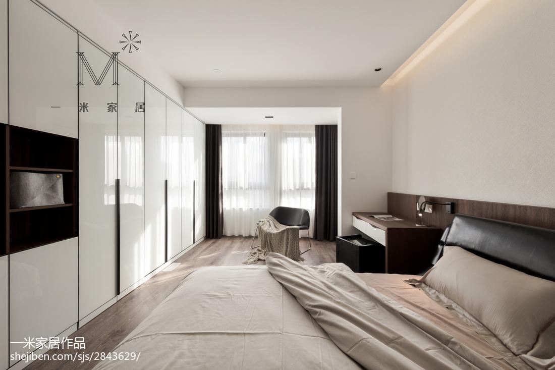 2018精选71平米二居卧室现代设计效果图