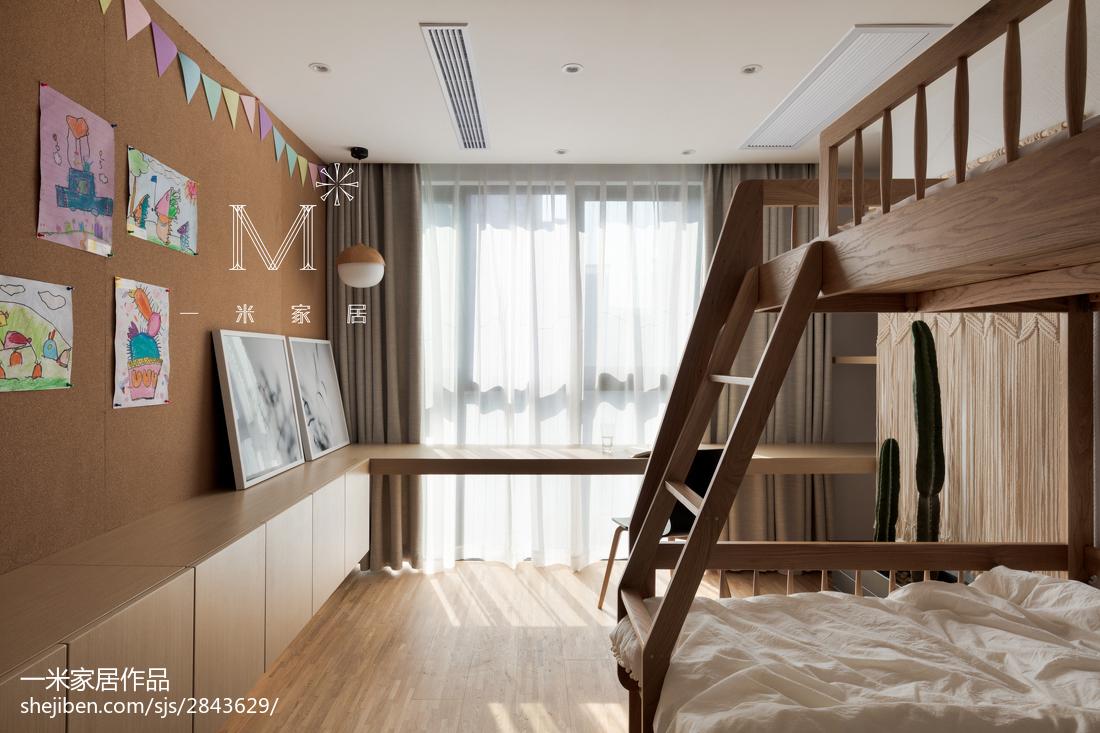 热门北欧二居儿童房效果图片大全
