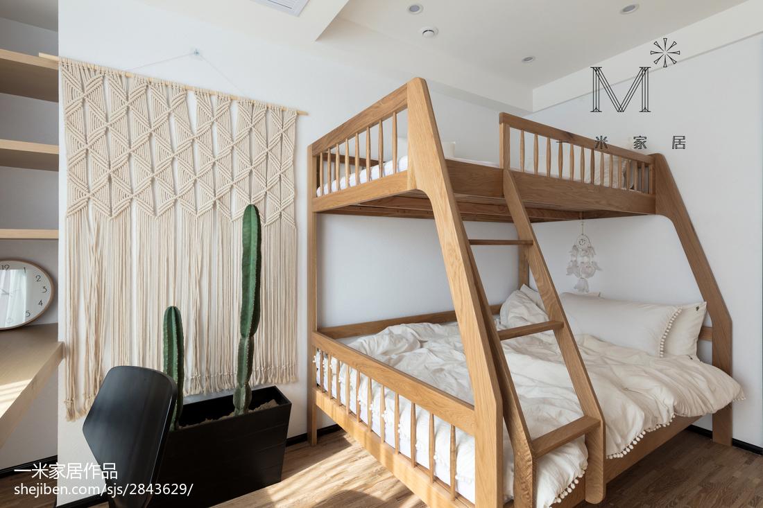 精选面积74平北欧二居儿童房装修图片欣赏