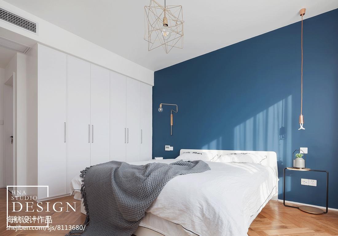 130平北欧卧室设计图