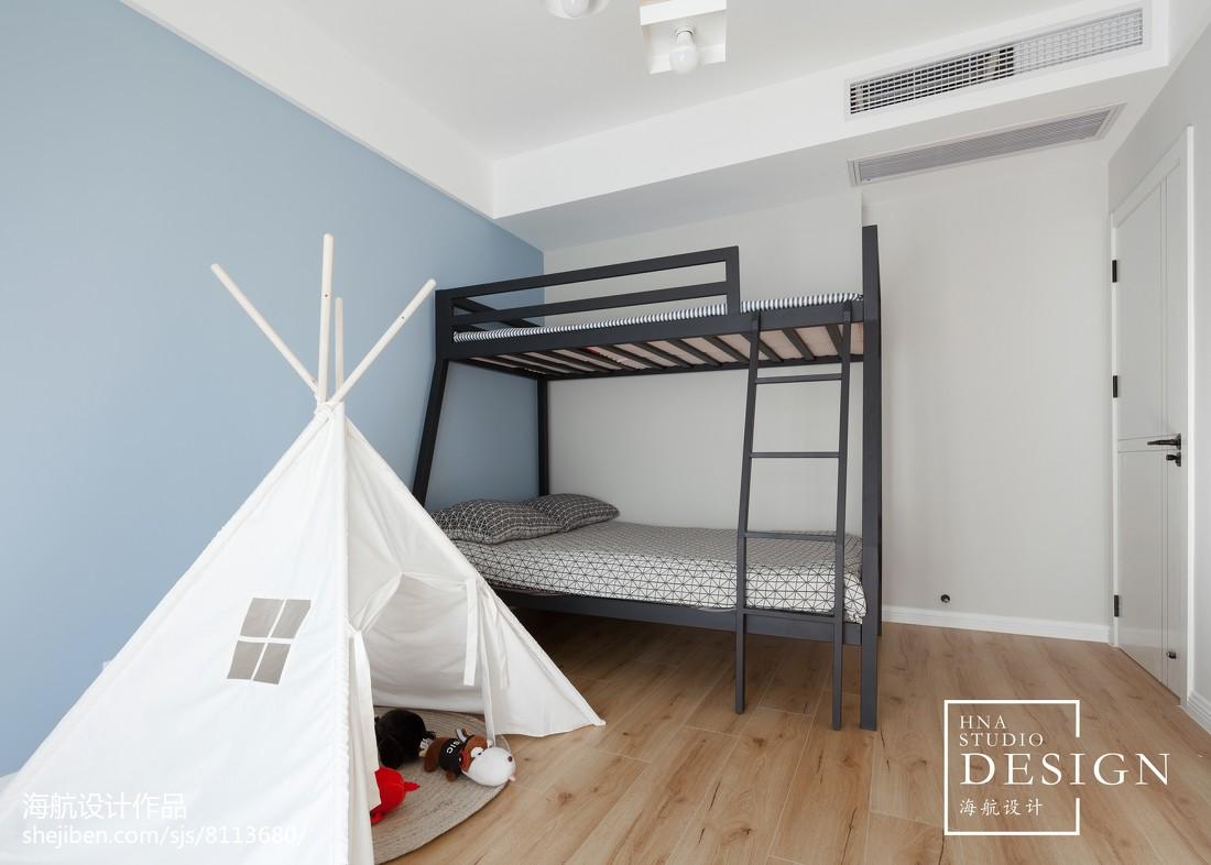 简单北欧儿童房图片