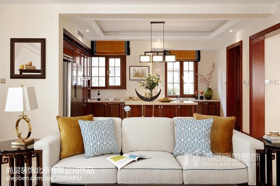 熱門別墅廚房中式裝修設計效果圖片