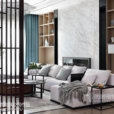 热门130平米中式别墅客厅装修图片大全