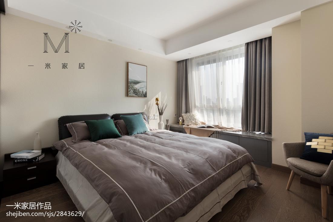 精美面积83平现代二居卧室装修效果图片