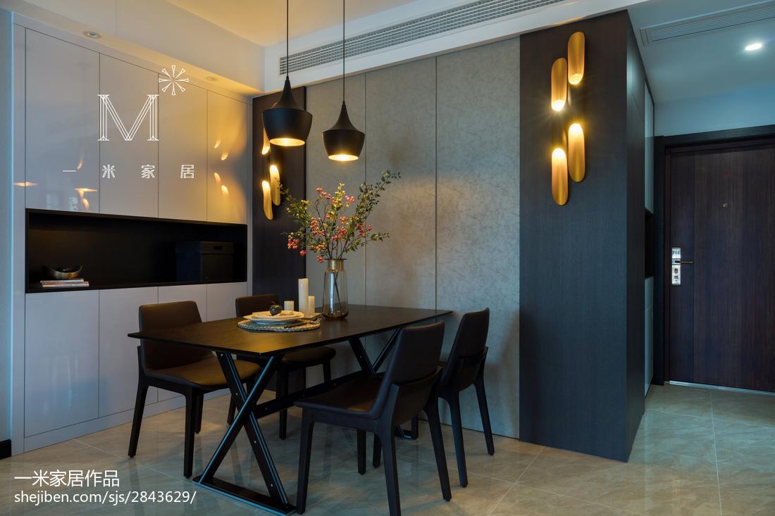 精选面积90平现代二居餐厅装修图