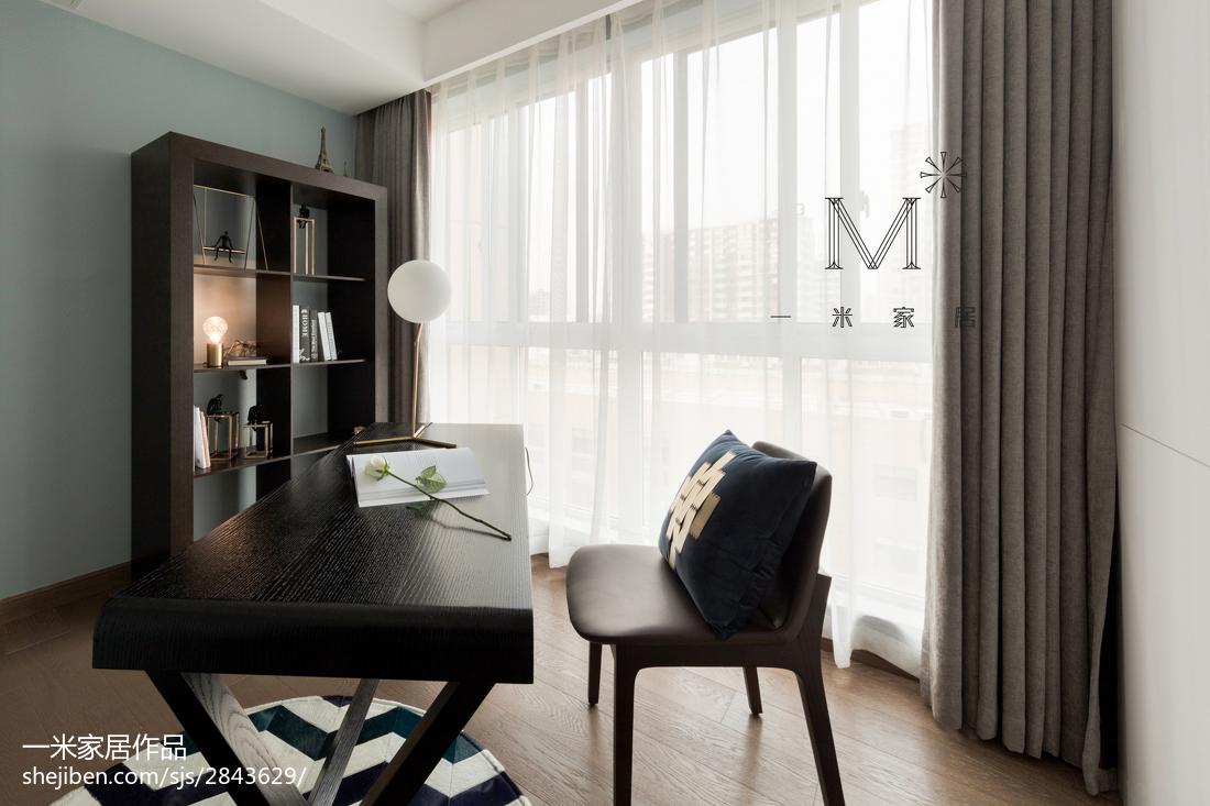 2018精选86平米二居书房现代装修设计效果图